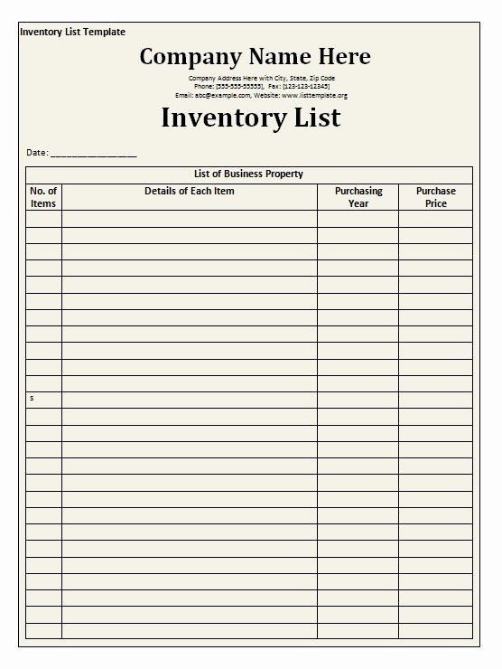 Office Supplies List Template Luxury Fice Supply Checklist Templates for Your Business Violeet