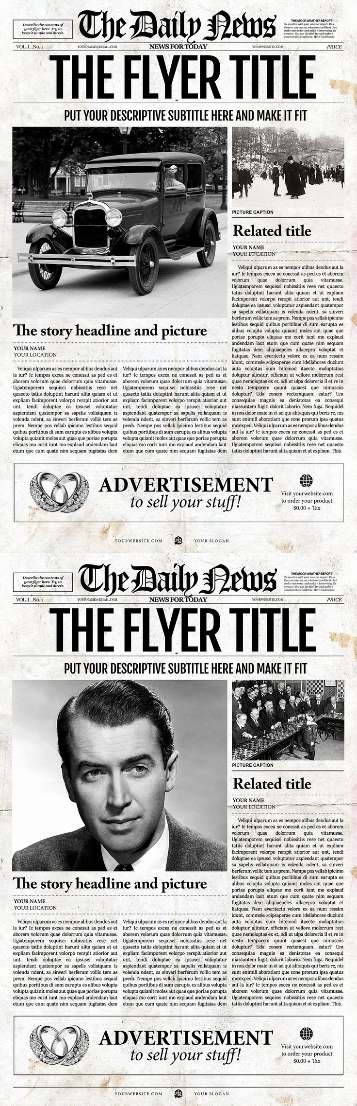 Old Time Newspaper Template Best Of Newspaper Front Pages On Pinterest