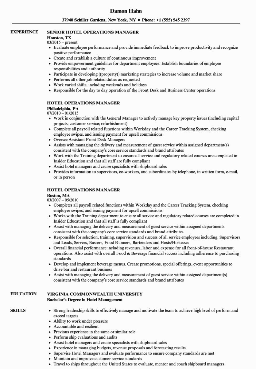 Operations Manager Job Description Template Elegant 10 Small but Important Things to Observe