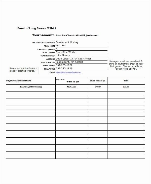 Order form Template Excel Best Of Excel order form Template 19 Free Excel Documents