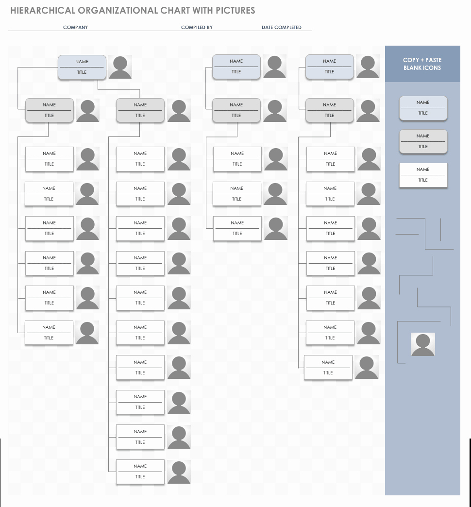 Organization Chart Template Excel Best Of Free org Chart Templates for Excel