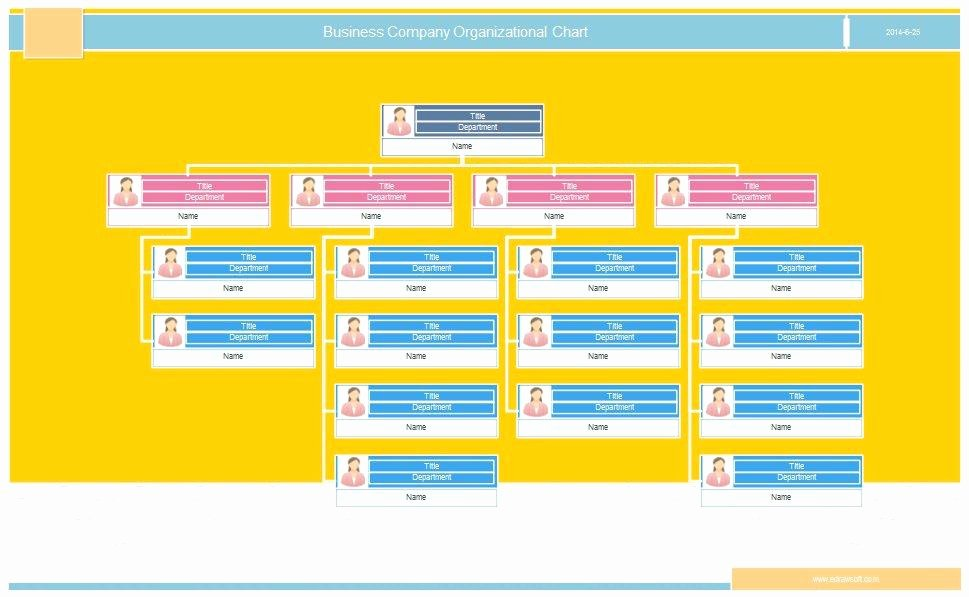 Organization Chart Template Excel Lovely 40 Free organizational Chart Templates Word Excel