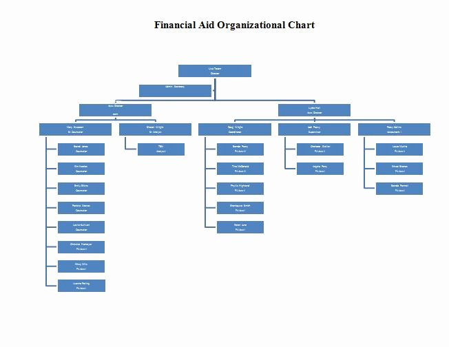 Organizational Chart Template Free Beautiful 40 organizational Chart Templates Word Excel Powerpoint