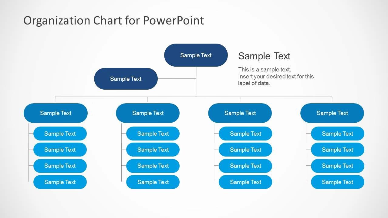 Organizational Chart Template Free Inspirational Simple organizational Chart Template for Powerpoint