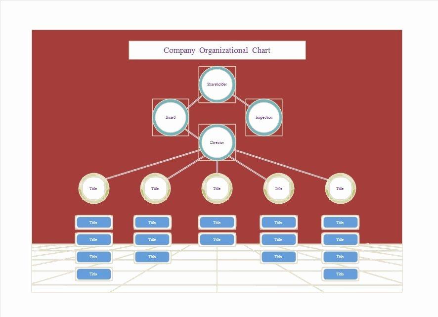 Organizational Chart Template Free Luxury 40 organizational Chart Templates Word Excel Powerpoint