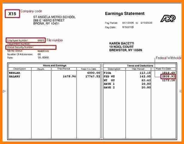 Pay Stub Template Word Document Elegant 8 Word Paystub Template