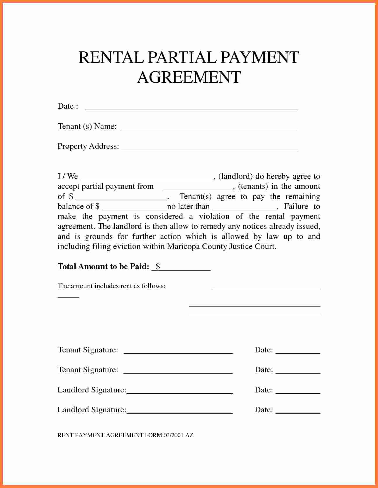 Payment Agreement Contract Template Elegant 5 Payment Agreement Template
