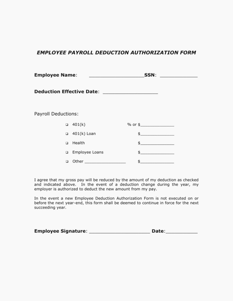 Payroll Deduction form Template Fresh Seven Ways How to Get
