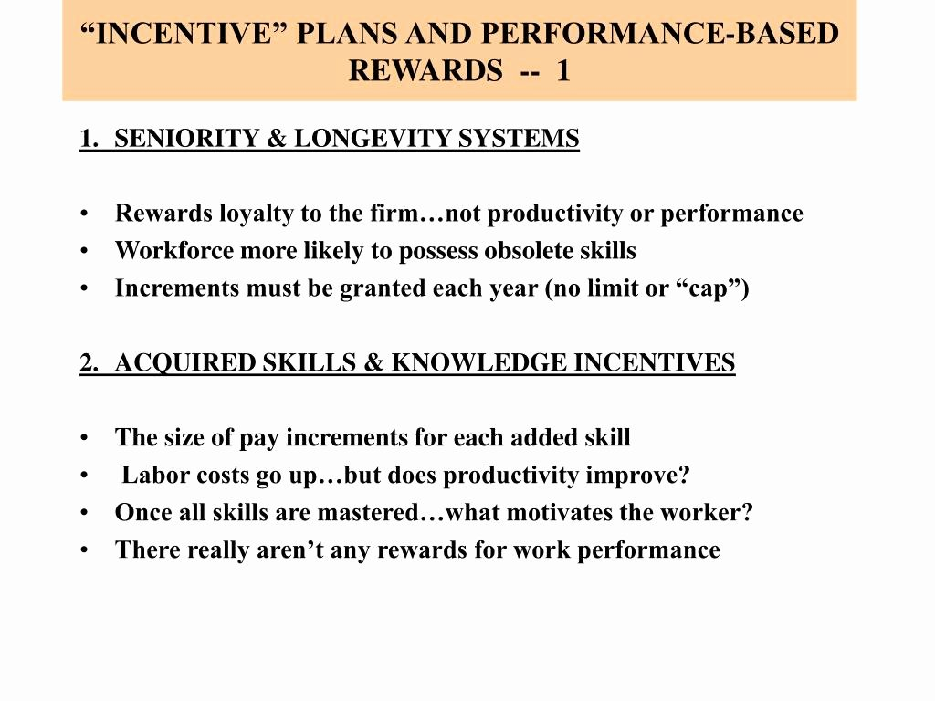Performance Based Bonus Plan Template Fresh Ppt Managerial Approaches to Motivation Powerpoint