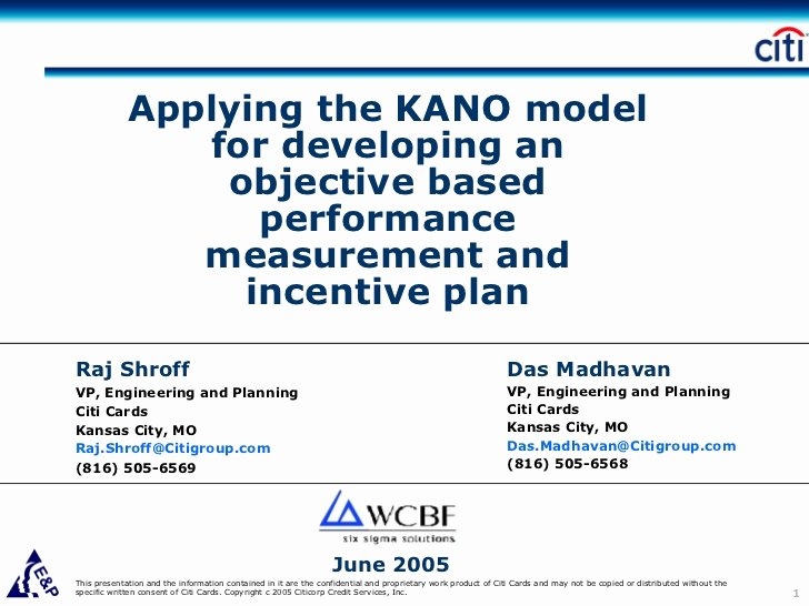 Performance Based Bonus Plan Template New Applying the Kano Model for Developing An Objective Based