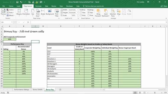 Performance Based Bonus Plan Template Unique Employee Bonus Excel Template Incentive Plan Calculation