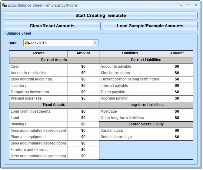 Personal Balance Sheet Template Excel Awesome Balance Sheet Template Excel Spreadsheet Templates for