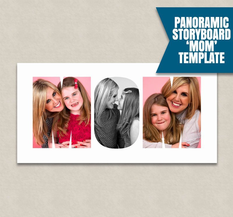 Photo Collage Template Word Inspirational Mom Shop Collage Template Word Storyboard Template Psd