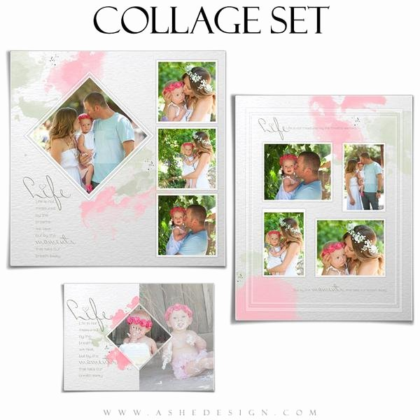 Photo Collage Template Word Inspirational Shop Collage Template Set