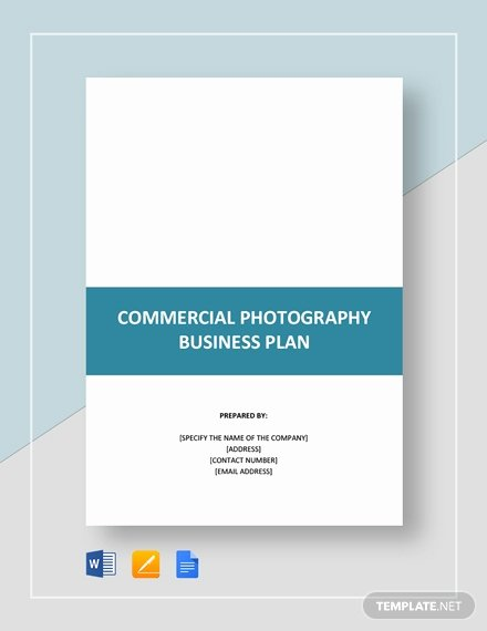 Photography Business Plan Template Elegant Mercial Graphy Business Plan Template Word