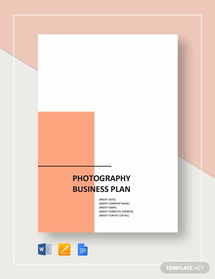 Photography Business Plan Template Luxury Graphy Business Plan Template 14 Free Sample