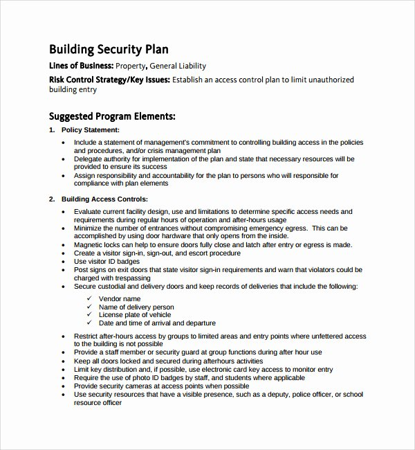Physical Security Plan Template Beautiful event Planning Proposal Template