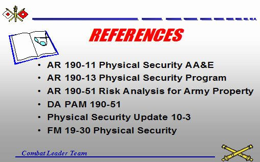 Physical Security Plan Template Lovely Unit Physical Security Plan Armystudyguide