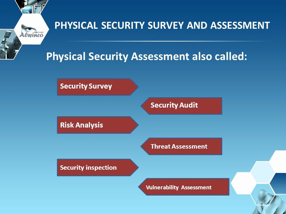 Physical Security Plan Template Unique Physical Security Survey and assessment Ppt Video Online