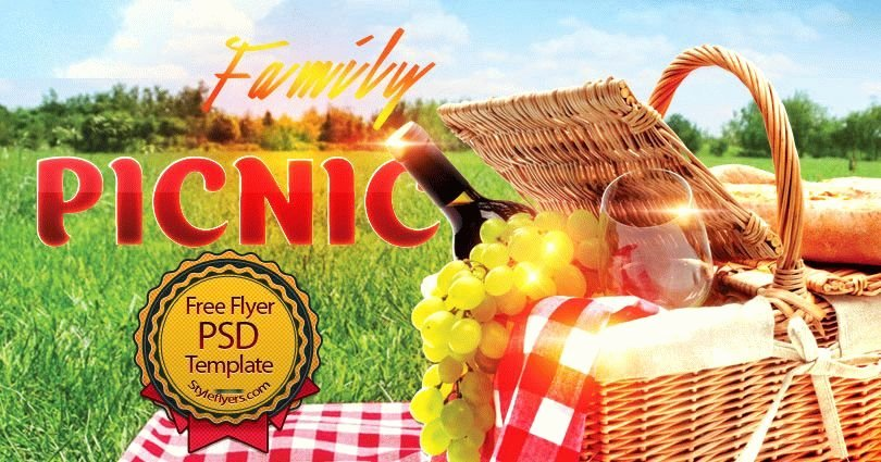 Picnic Flyer Template Free Best Of Family Picknic Psd Flyer Template Free Download 6993