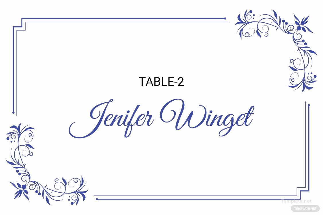 Place Card Template Word Beautiful Free Delicate Lace Place Wedding Place Card Template In