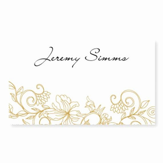 Place Card Template Word Elegant Wedding Place Card Template Instant by Diyweddingtemplates