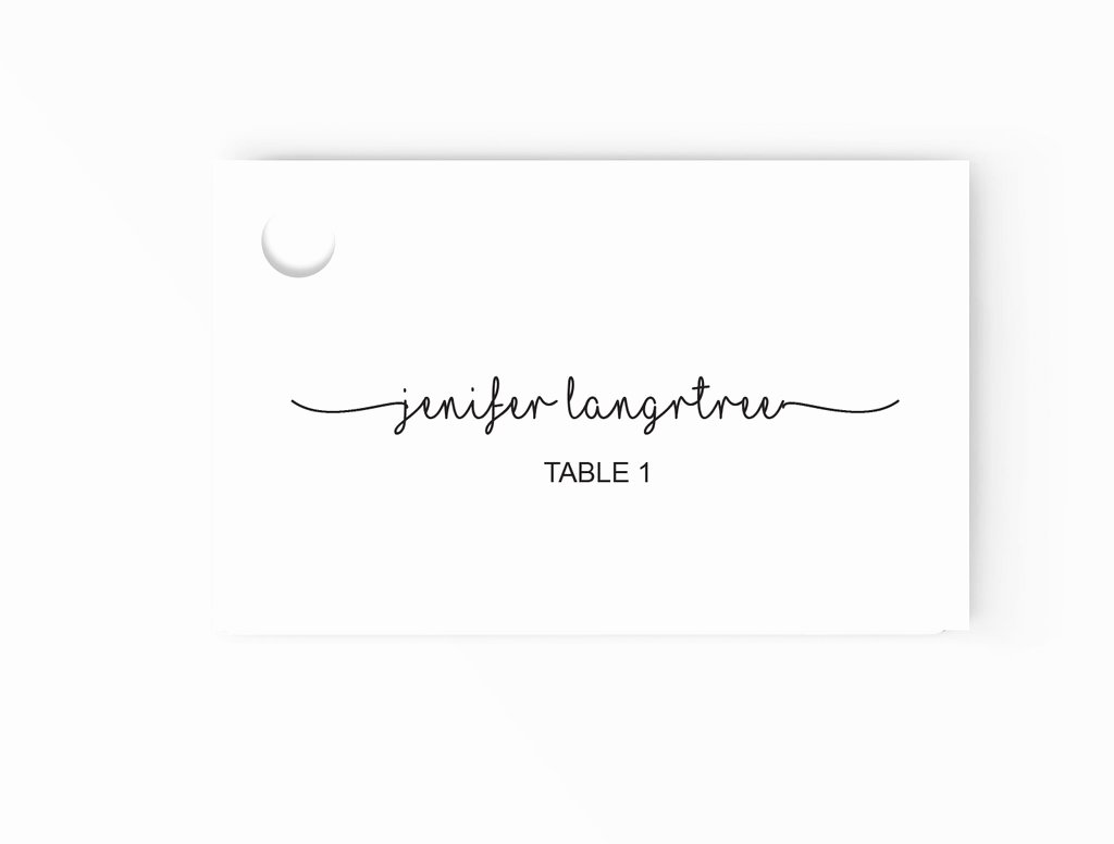 Place Card Template Word Fresh Wedding Escort Place Cards Editable Ms Word Template Diy
