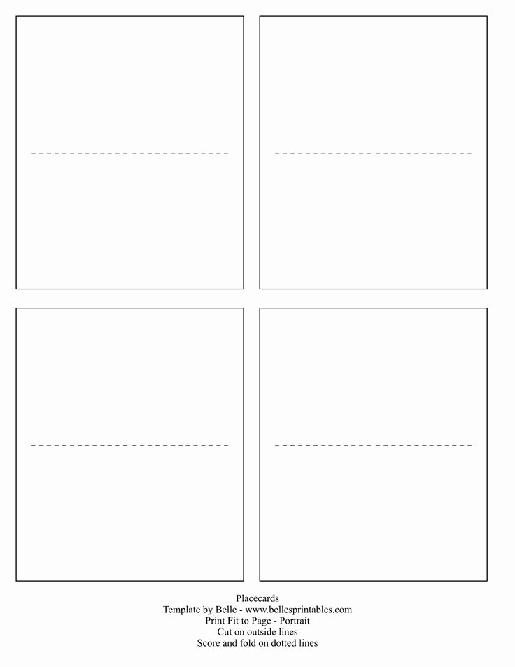 Place Card Template Word Inspirational Best 25 Free Place Card Template Ideas On Pinterest