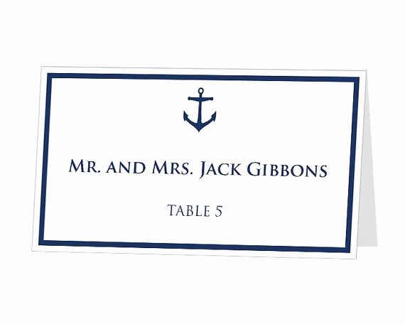 Place Card Template Word Luxury Best 25 Printable Place Cards Ideas On Pinterest