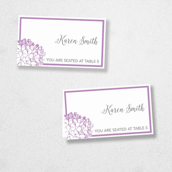 Place Card Template Word Unique Printable Place Card Template Instant Download Escort by