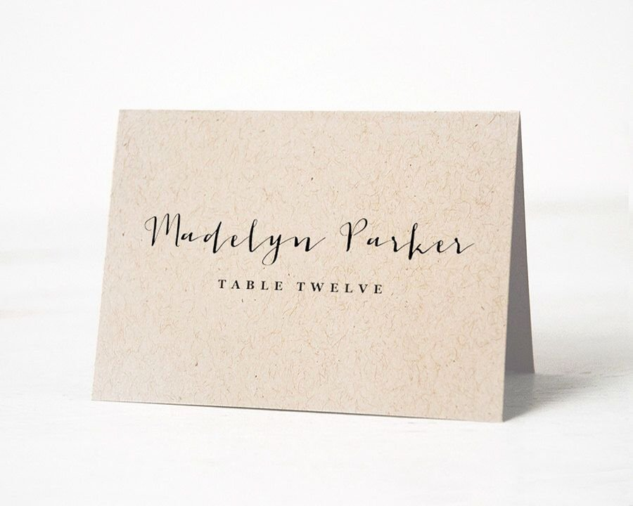 Place Card Templates Word Awesome Pin by Sara Paccamon On Wedding