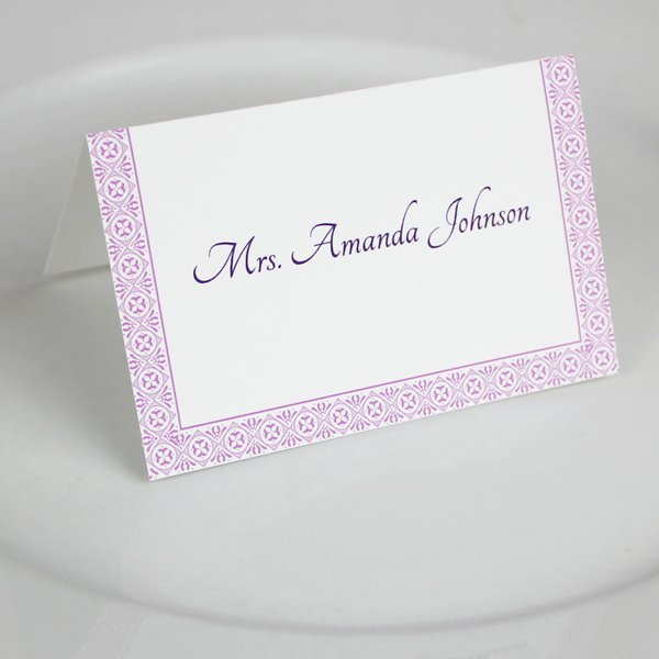 Place Card Templates Word Inspirational Microsoft Word Wedding Place Card Templates – Download & Print