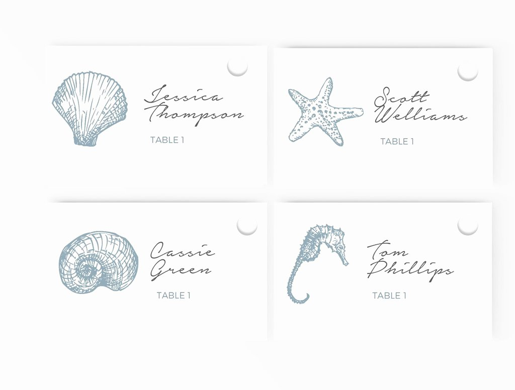 Place Card Templates Word Luxury Wedding Escort Place Card Template