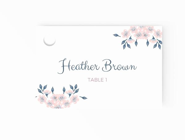 Placement Card Template Word Awesome Wedding Escort Place Cards Editable Ms Word Template Diy