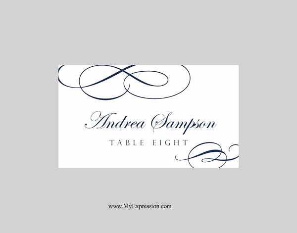 Placement Card Template Word Awesome Wedding Place Cards Template Folded – Calligraphic