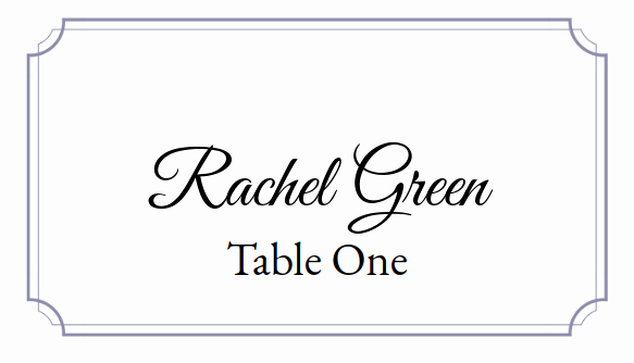 Placement Card Template Word Elegant Place Card Me A Free and Easy Printable Place Card Maker