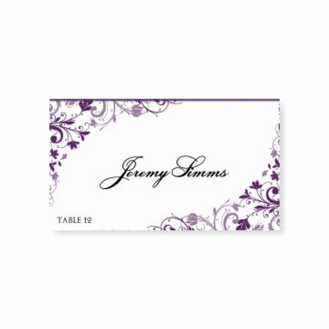 Placement Card Template Word Lovely Instant Download Wedding Place Card Template Chic