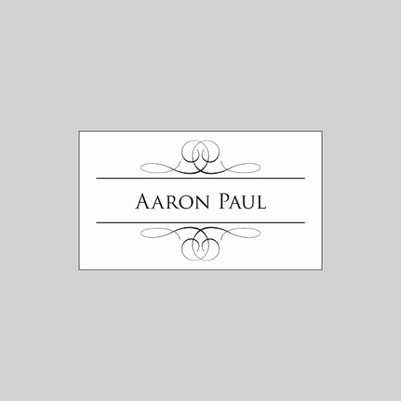 Placement Card Template Word Unique Wedding Place Cards Folded Template Elegant Flourish