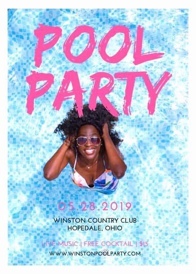Pool Party Flyers Templates Free New Customize 172 Party Flyer Templates Online Canva