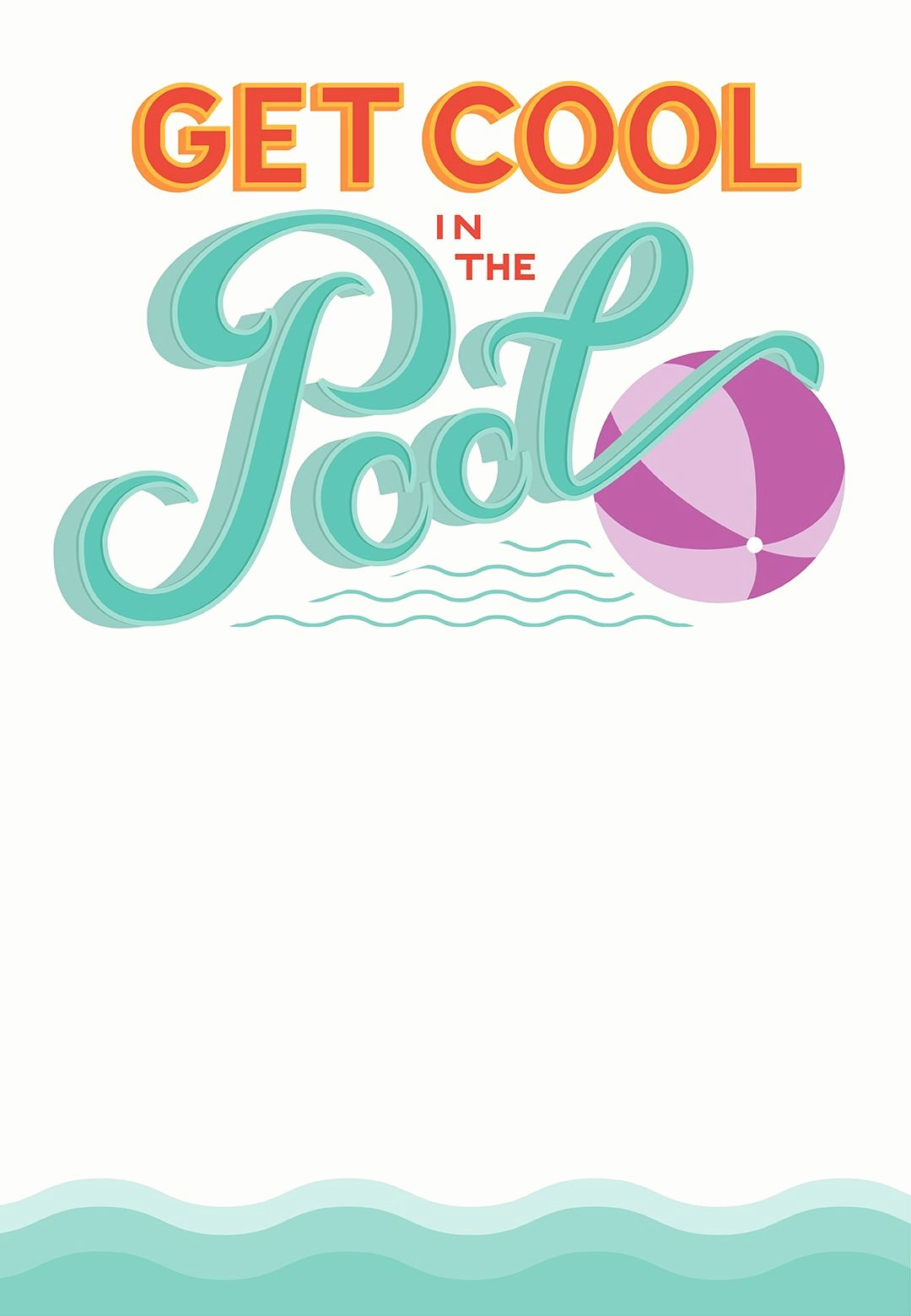 Pool Party Invite Template Beautiful Pool Party Free Printable Party Invitation Template