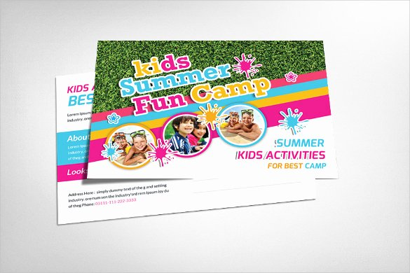 Postcard Template for Kids Awesome Advertising Postcard Template – 22 Free Psd Vector Eps