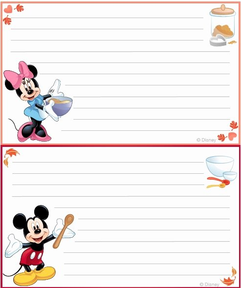 Postcard Template for Kids Lovely 40 Recipe Card Template and Free Printables – Tip Junkie