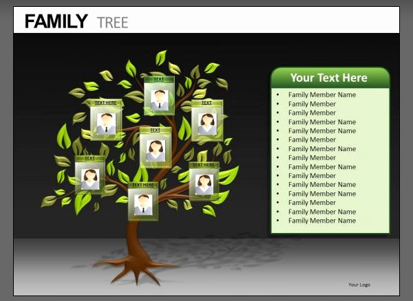 Powerpoint Family Tree Template Lovely 7 Powerpoint Family Tree Templates