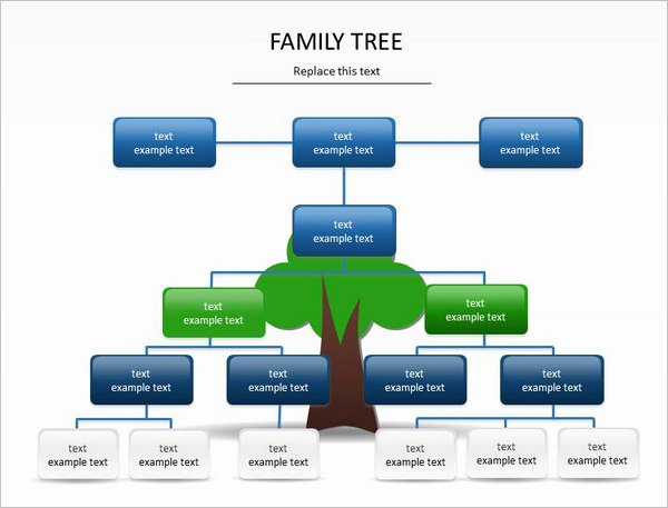 Powerpoint Family Tree Template Lovely 9 Powerpoint Family Tree Template Ppt