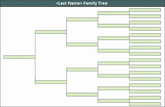 Powerpoint Family Tree Template Lovely Free Editable Family Tree Template
