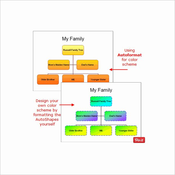 Powerpoint Family Tree Template Luxury 7 Powerpoint Family Tree Templates