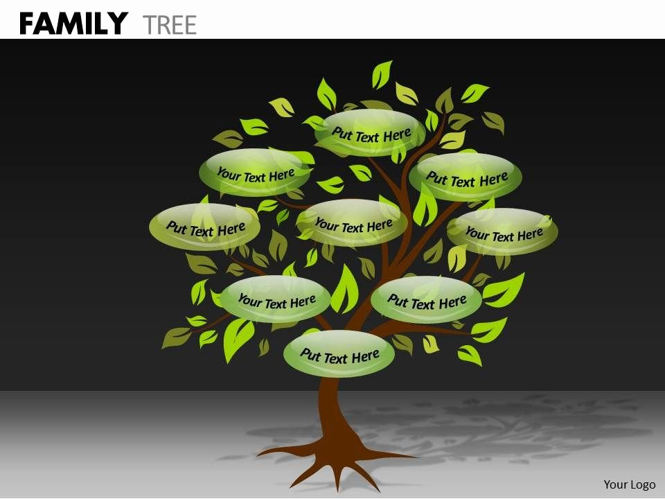 Powerpoint Family Tree Template Luxury Family Tree Ppt 4 Powerpoint Templates Designs