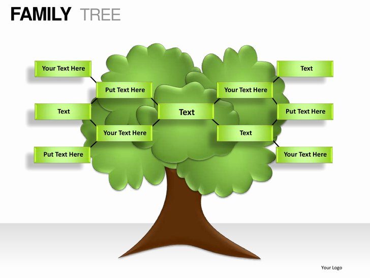 Powerpoint Family Tree Template New Family Tree Powerpoint Presentation Templates