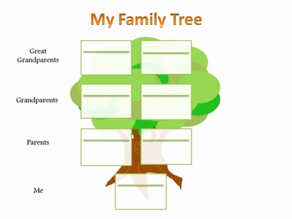 Powerpoint Family Tree Template Unique Editable School Project Powerpoint