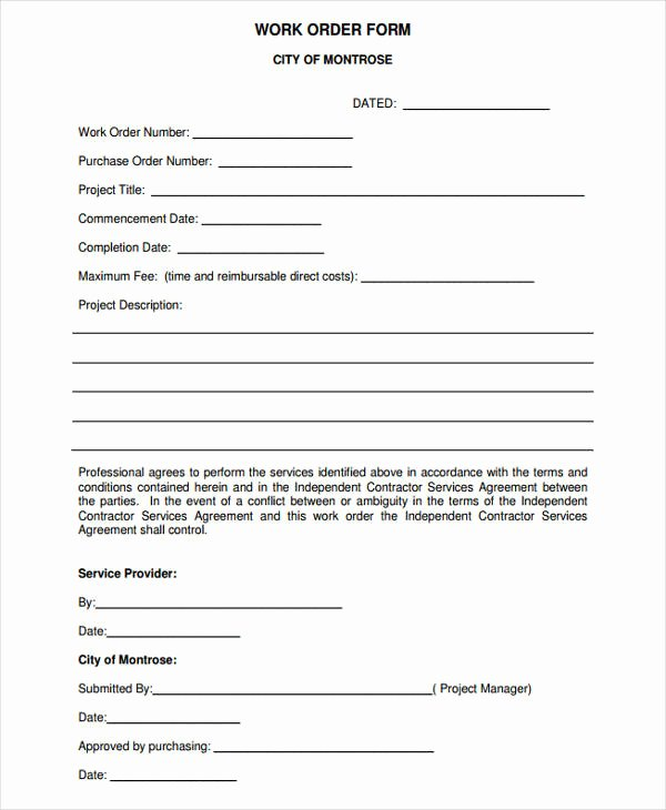 Pre order form Template Luxury 45 Printable Agreement forms Word Pdf